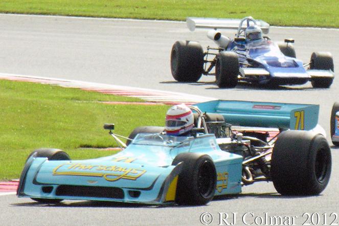 Chevron B28, Simon Taylor, Silverstone Classic