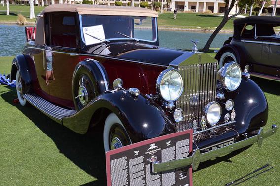 Rolls Royce Wraith Hooper Drophead Coupé, Desert Classic Concours d'Elegance