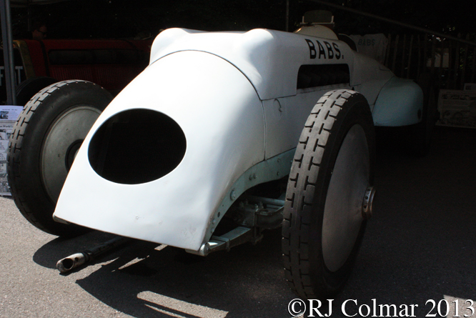 BABS, Goodwood Festival of Speed,