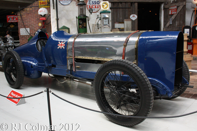 Sunbeam V12, National Motor Museum, Beaulieu