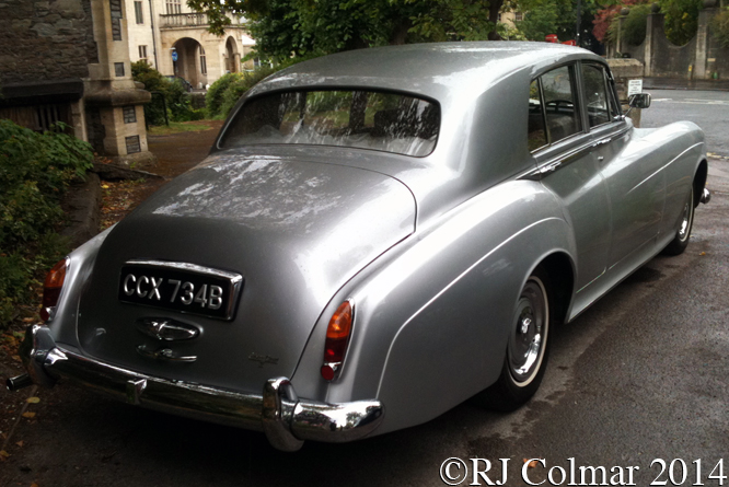 Rolls Royce Silver Cloud III, Cotham Parish Church, Bristol