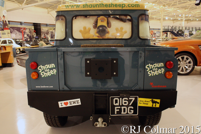 Lamb Rover, Heritage Motor Museum, Gaydon,
