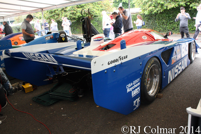 Nissan GTP ZX-Turbo, Goodwood Festival of Speed,