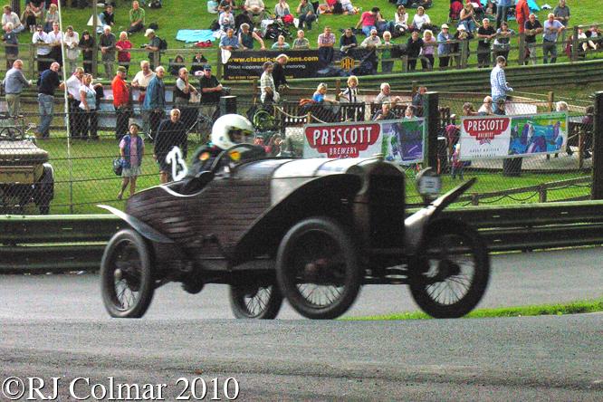 Amilcar CC Sport, Lady Carolyn Venables Llewelyn, VSCC, Prescott,