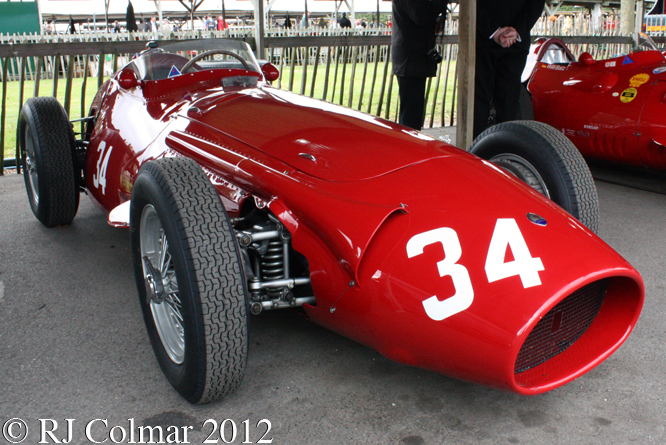Maserati 250 F, Richmond & Gordon Trophy, Goodwood Revival,