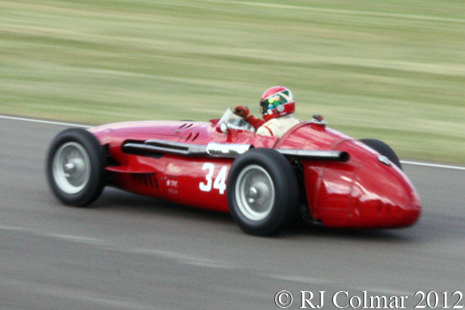 Maserati 250 F Michael Hinderer, Richmond & Gordon Trophy, Goodwood Revival,