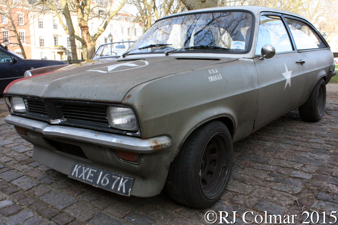 Vauxhall Viva, Avenue Drivers Club, Queen Square, Bristol,