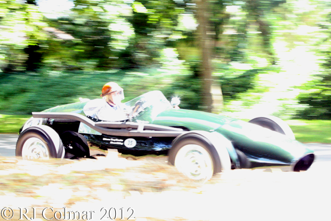 Connaught B-Type, Tony Brooks, Goodwood Festival of Speed,