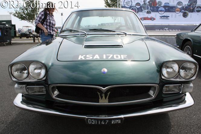 Maserati Quattroporte, Silverstone Classic