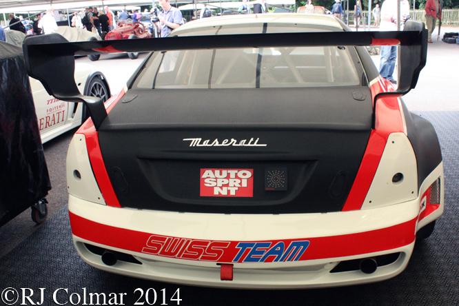 Maserati Quattroporte EVO, Goodwood Festival of Speed,