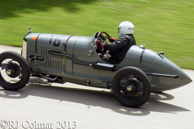 Amilcar CGSs Monoplace, Clive Temple, Motorsport At The Palace, Crystal Palace, London.