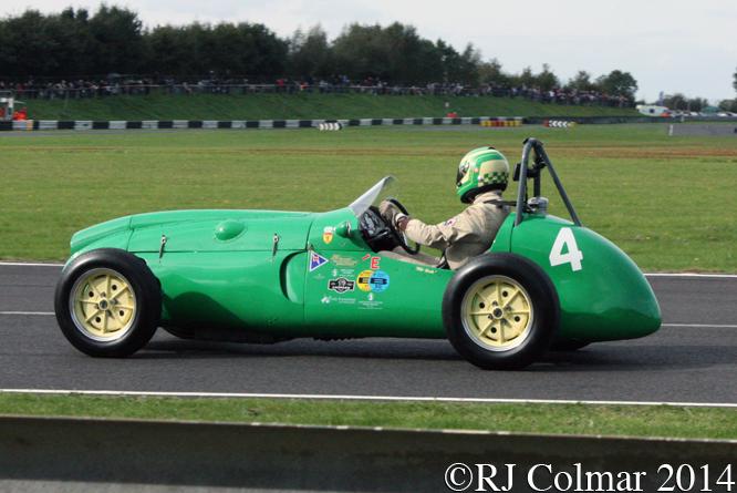 Cooper Bristol T23, Russell, Autumn Classic, Castle Combe,