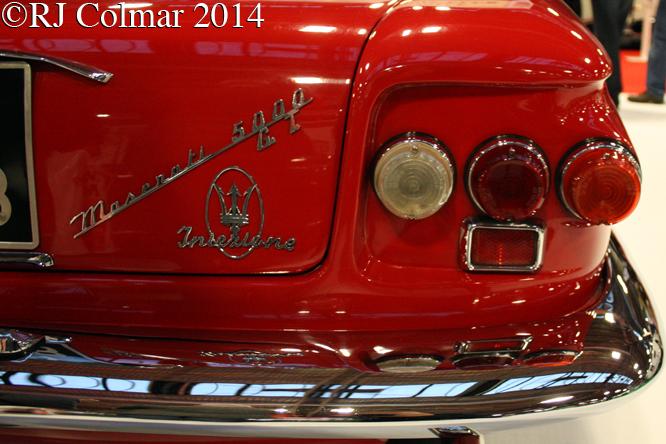 Maserati 5000GT, Classic Motor Show, NEC, Birmingham,