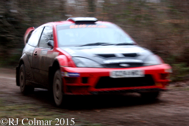 Ford Focus WRC 05, Damian Cole, Jack Moreton, Mailscot, Wyedean Forest Rally