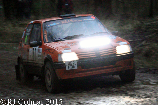 Peugeot 205 GTi, Lloyd, Roberts, Mailscot, Wyedean Rally,