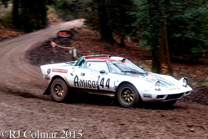 Lancia Stratos, Steve Perez, Paul Spooner, Blaze Bailey, Wyedean Forest Rally,