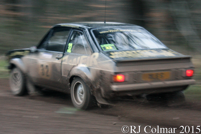 Ford Escort Mk II, Elsmore, Harrold, Mailscot, Wyedean Rally,
