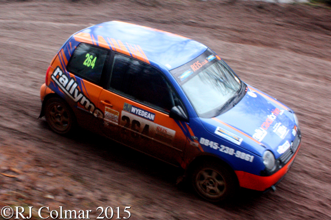 Volkswagen Lupo Sport, Danny O'Reilly, Karen Phelps, Mailscot, Wyedean Forest Rally,