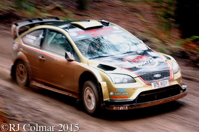 Ford Focus WRC 07, Bird, Davies, Blaze Bailey, Wyedean Rally,