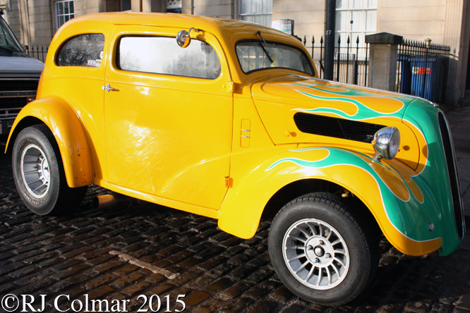 Avenue Drivers Club, Ford Anglia, Queen Square, Bristol,