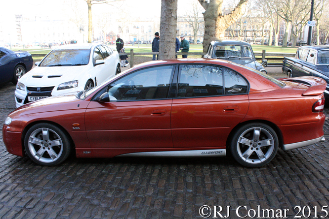 HSV VT ClubSport, Avenue Drivers Club, Queen Square, Bristol,