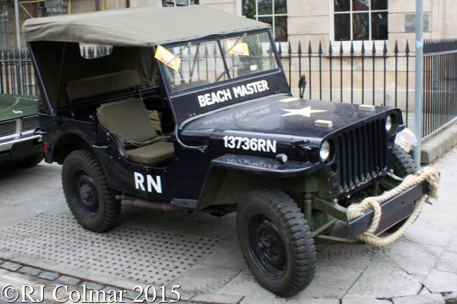 Willys MB, Avenue Drivers Club, Queen Square, Bristol,