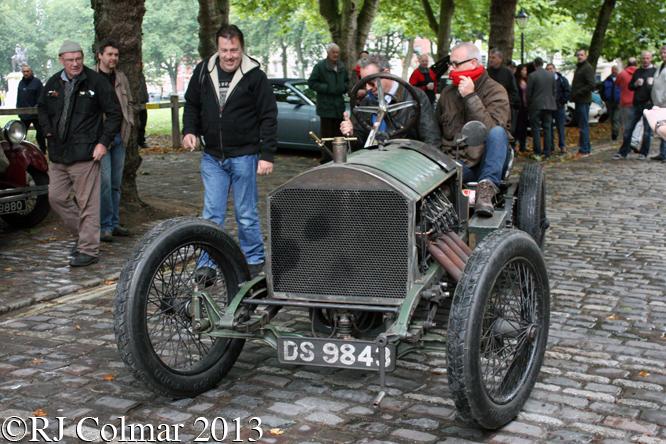 Monarch Curtiss, Avenue Drivers Club, Queen Square, Bristol,