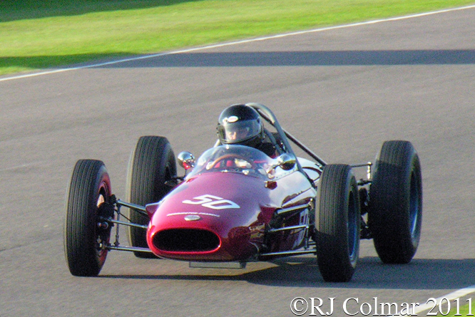 Derrington Francis ATS, Jason Wright, Goodwood Revival,