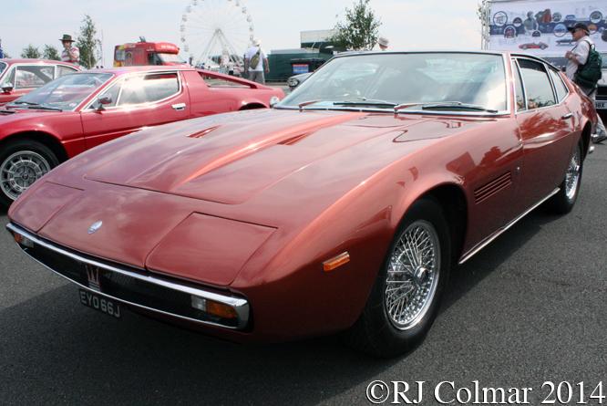 Maserati Ghibli SS, Silverstone Classic,