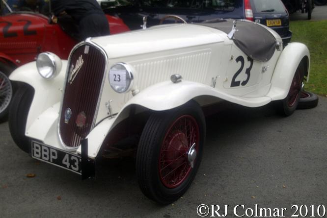 FIAT 508S Balilla, VSCC Loton Park,