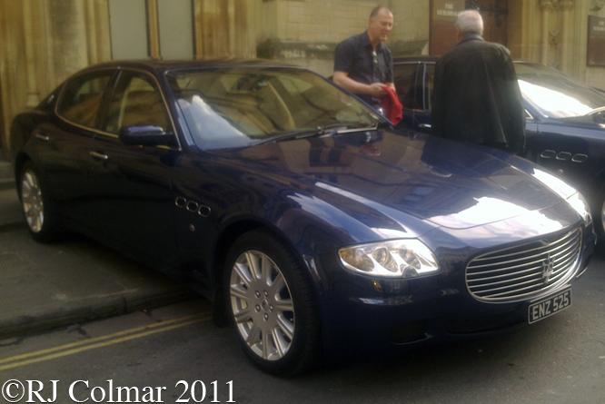 Maserati Quattroporte, BIAMF, Bristol,