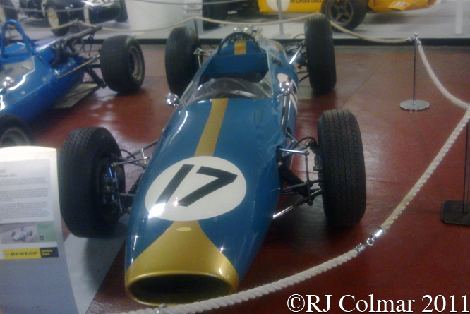 Brabham BT3, Donington Grand Prix Collection,