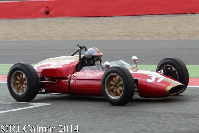 Heron Alfa Romeo, Eddy Perk, Silverstone Classic,