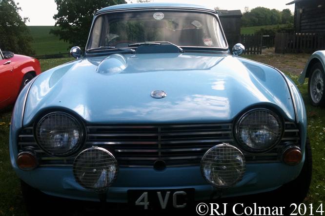 Triumph TR4, TNF Herts, Ware,