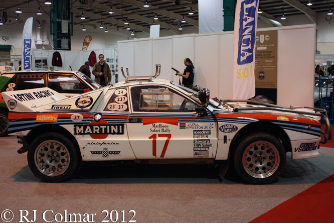 Lancia Rally 037, Race Retro, Stoneleigh,