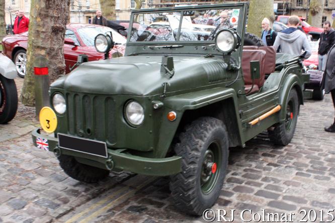 Austin Champ, Avenue Drivers Club, Queen Square, Bristol,