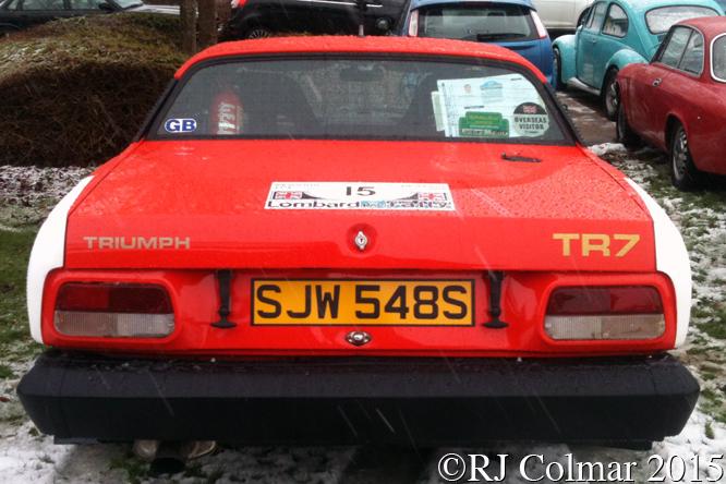 Triumph TR7, TNF Herts Film Show, Ware