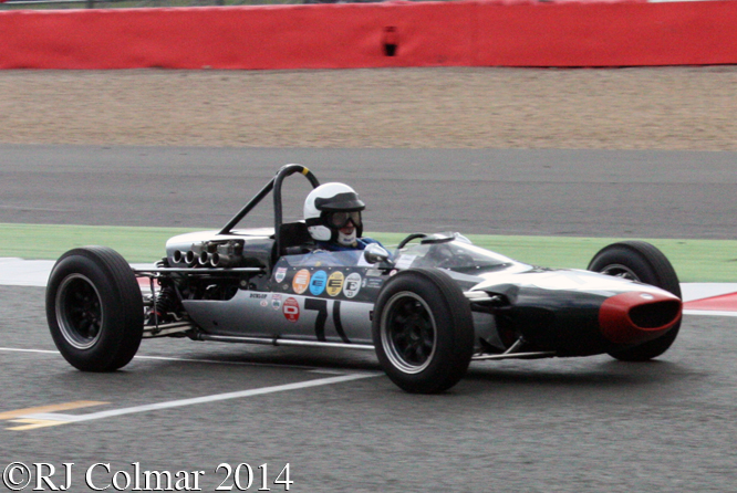 Cooper T71/73, Alan Baillie, Silverstone Classic