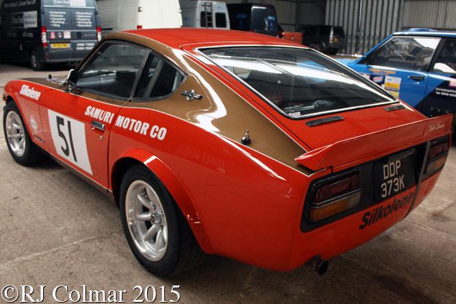 Datsun 240Z, Race Retro, Stoneleigh