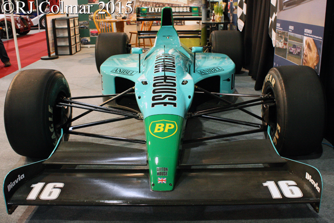 Leyton House CG901, Race Retro, Stoneleigh,