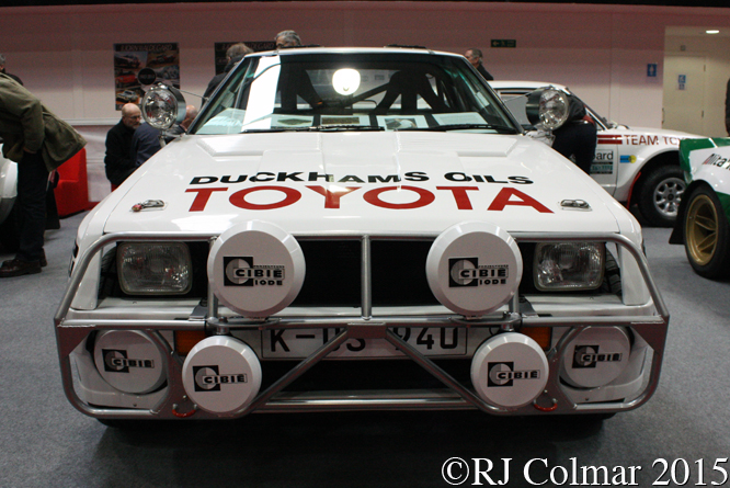 Toyota Celica Twin Cam Turbo TA64, Race Retro, Stoneleigh