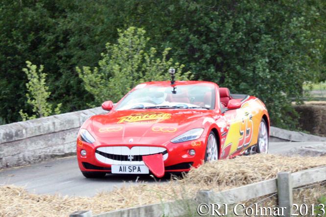 Maserati GranCabrio, Andrew Philips, Cholmondeley Pageant of Power, Cholmondeley Castle