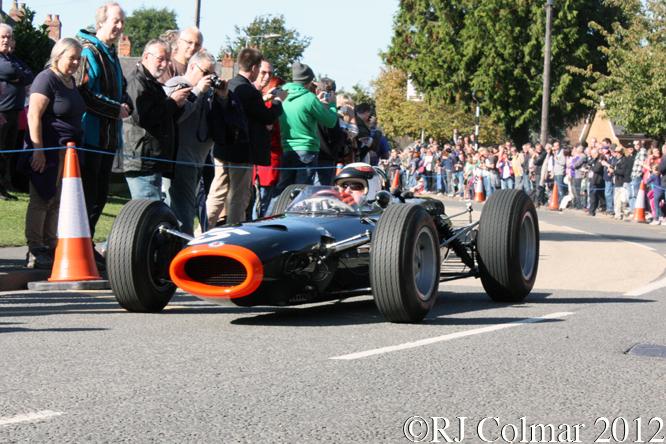 BRM P261, Sir Jackie Stewart, BRM Day, Bourne