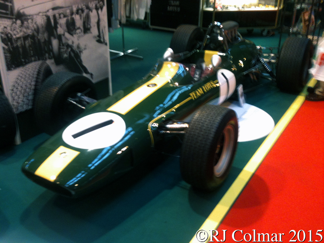 Lotus 33, Autosport International, NEC, Birmingham,