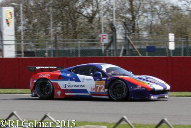 Ferrari F458 Italia, Shaytar / Bertolini / Basov, 6 Hours Of Silverstone