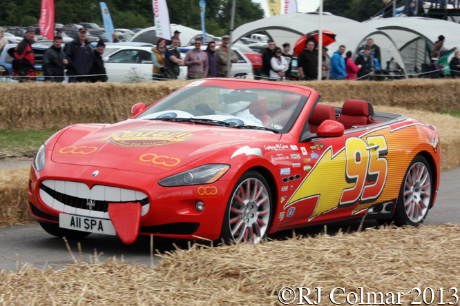 Maserati GranCabrio, Andrew Philips, Cholmondeley Pageant of Power, Cholmondeley Castle