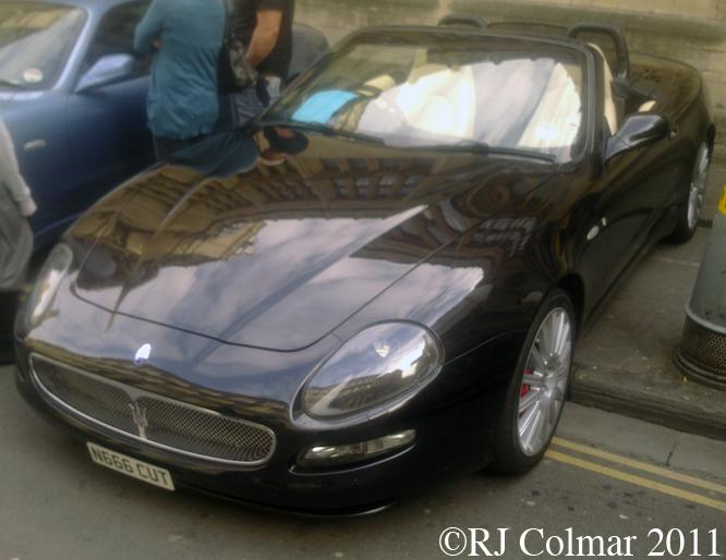 Maserati Spyder, Bristol Italian Auto Moto Festival,