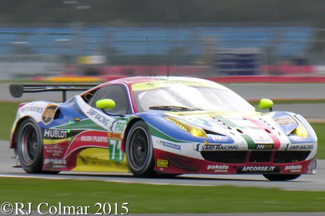 Ferrari F458 Italia, Rigon / Calado, 6 Hours Of Silverstone