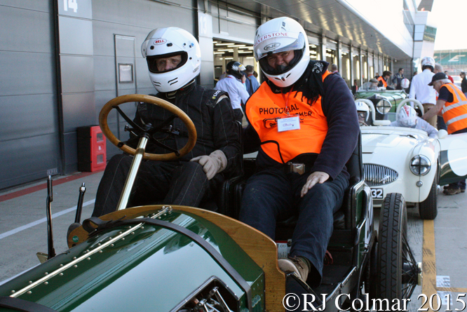 John Denis, Berliet Curtiss, Silverstone Classic, Press Day,