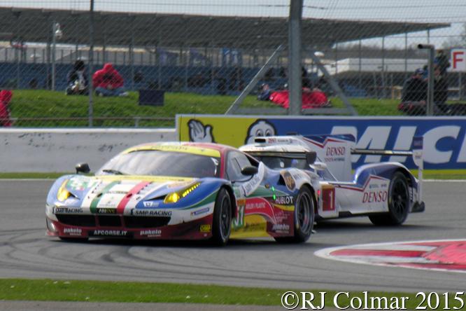 Ferrari F458 Italia, Bruni / Vilander, 6 Hours Of Silverstone